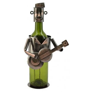 Maxime Guitar Player 1 Bottle Tabletop Wine Rack by Winston Porter