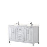 Daria 60 Double Bathroom Vanity Set by Wyndham Collection