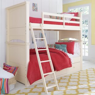Summerset Twin Over Full Bunk Bed with Storage