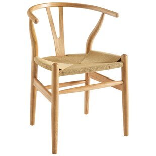 Solid Wood Queen Anne Back Arm Chair