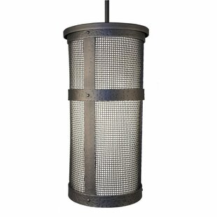 Bayview 1-Light Cylinder Pendant by Loon Peak