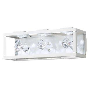 Fyra 3-Light LED Flush Mount By Swarovski