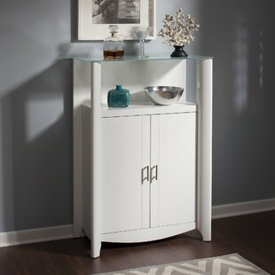 Latitude Run Wentworth Library Storage Cabinet with Doors