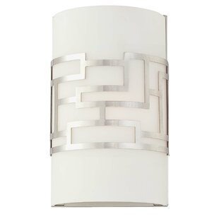 Great deal Brockman 1-Light Wall Sconce By Willa Arlo Interiors