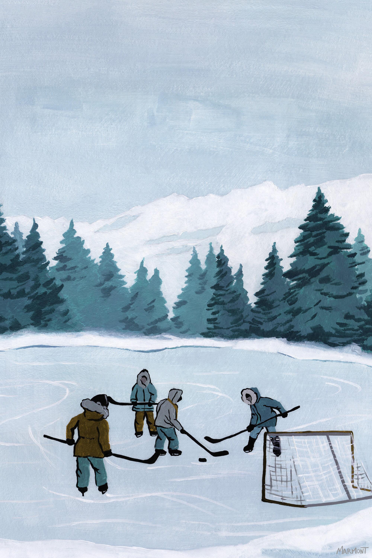 Isabelle Max Borror Outdoor Hockey Games Canvas Art Wayfair