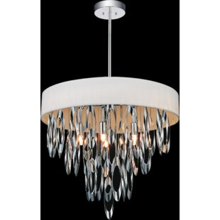 CWI Lighting Excel 6-Light Drum Chandelier