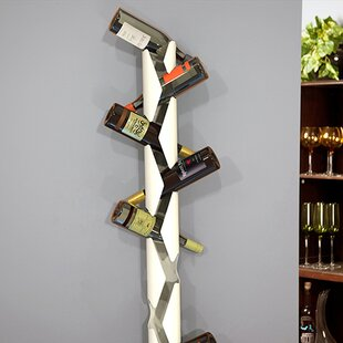 10 Bottle Wall Mounted Wine Rack by Decor..