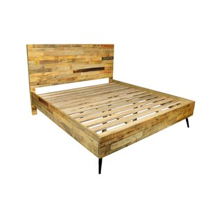 Ada King Platform Bed With Iron Legs by Union Rustic Best