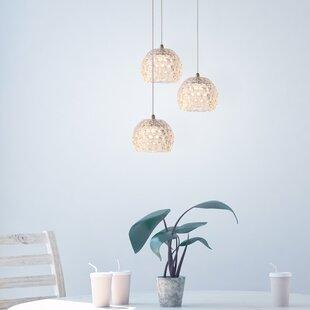 Bristow 3-light LED Cluste..