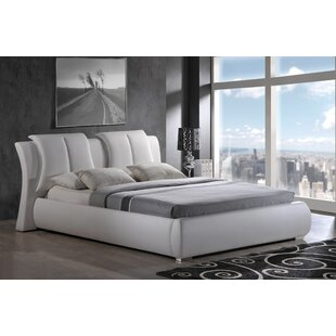 Upholstered Platform Bed by Global Furniture USA