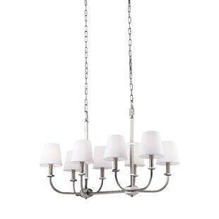 Darby Home Co Holdren 8-Light Shaded Chandelier