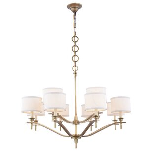 Everly Quinn Gwendolen 12-Light Shaded Chandelier