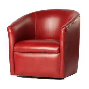 Great Price Person Swivel Barrel Chair By Zipcode Design