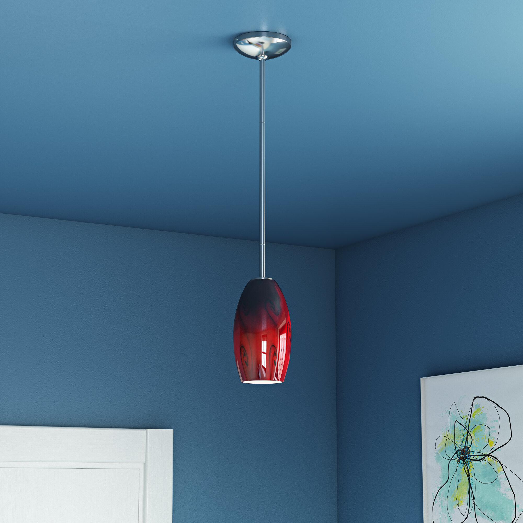 Ebern Designs Erickson 1-Light Cone Pendant & Reviews   Wayfair