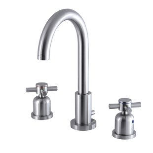 Kingston Brass Concord Widespread Bathroom Faucet with Drain Assembly