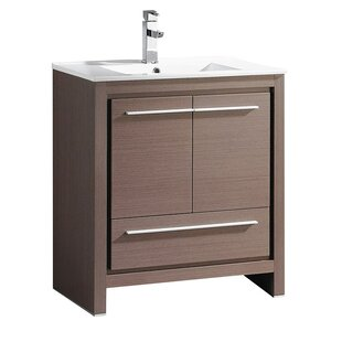 Read Reviews Allier 30 Single Bathroom Vanity Set By Fresca