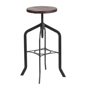 Keena Adjustable Height Swivel Bar Stool ..