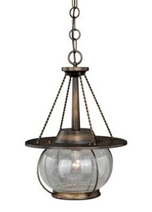 Williston Forge Karole 1-Light Globe Pendant