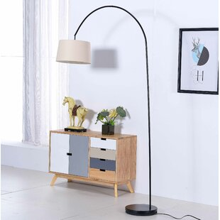 Ebern Designs Dorian 81'' Archred Floor Lamp