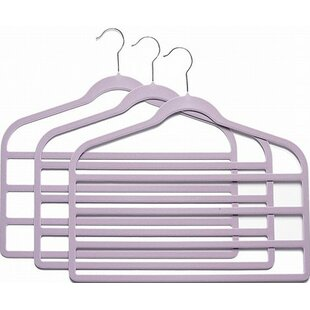 Top Slim-Line Multi Pant Non-Slip Hanger By Only Hangers Inc.