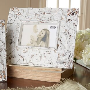white washed distressed antique inspired picture frame - White Distressed Flooring