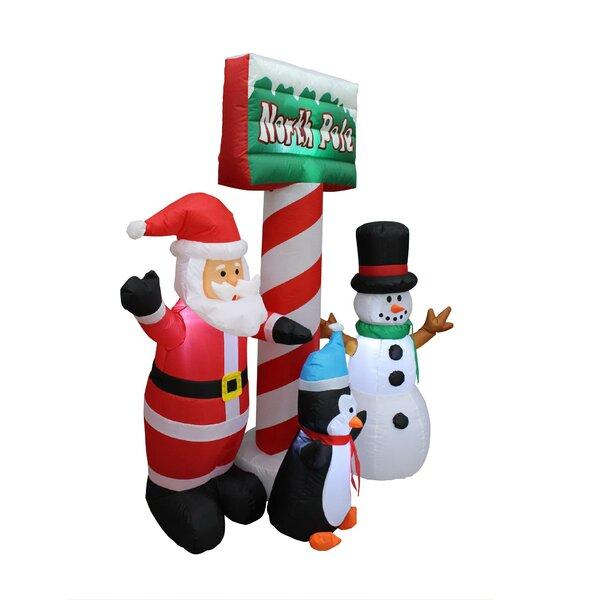 Outdoor Snowman Family Wayfair