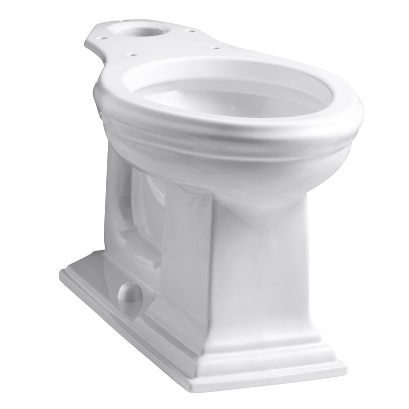 Kohler Memoirs 1 28 Gpf Water Efficient Elongated Toilet Bowl With High Efficiency Flush Seat Not Included Perigold
