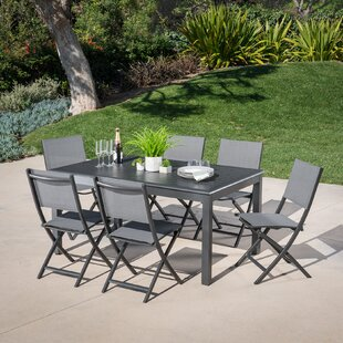 Latitude Run Bayshore 7 Piece Dining Set
