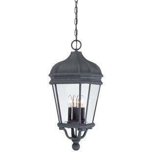 Great Outdoors by Minka Harrison 4-Light Outdoor Hanging Lantern