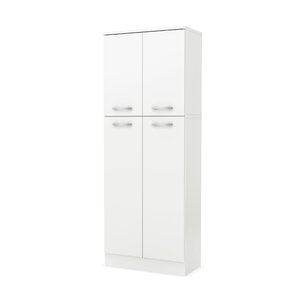 white kitchen pantry cabinet. Axess 61 9  Kitchen Pantry Cabinets You ll Love Wayfair