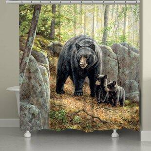 Best Bear Cub Shower Curtain ByEast Urban Home