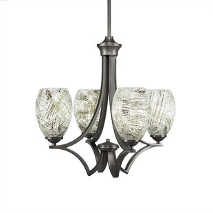 Couto 4-Light Shaded Chandelier by Red Barrel Studio