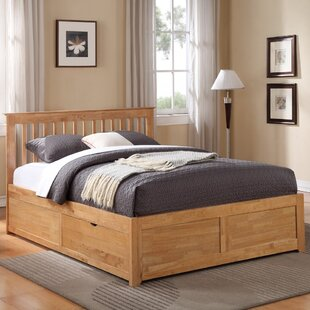 Review Harpole Storage Ottoman Bed
