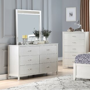 House of Hampton Wayman 6 Drawer Double Dres..