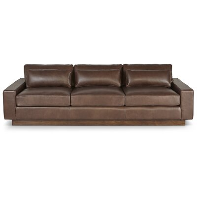 Deep Leather Sofas You Ll Love In 2019 Wayfair