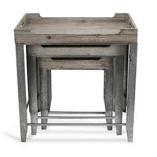 Proclus 3 Piece Nesting Tables by Gracie Oaks