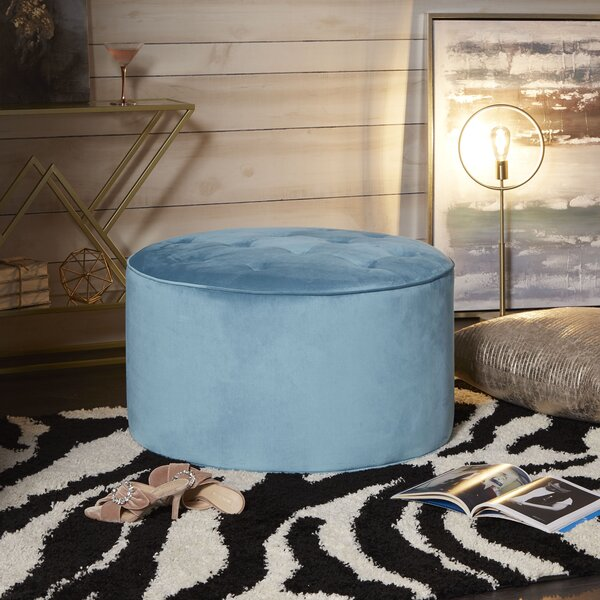 Peachy 36 Inch Round Ottoman Wayfair Machost Co Dining Chair Design Ideas Machostcouk