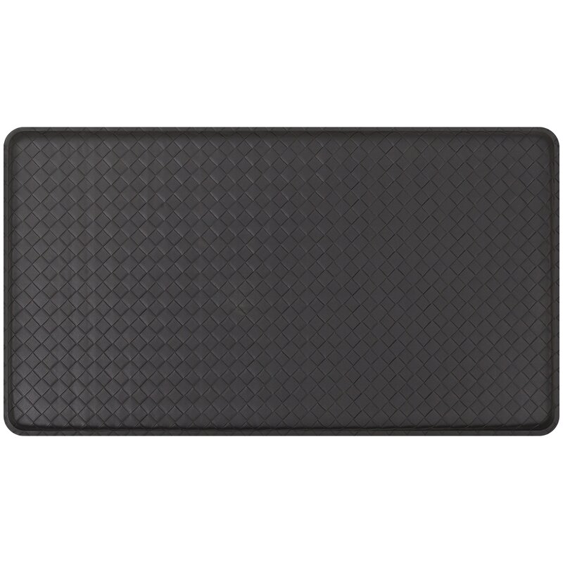Basketweave Classic Anti Fatigue Comfort Kitchen Mat