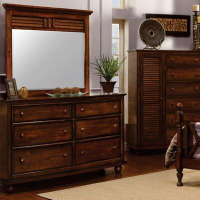 Bayou Breezejamarais 6 Drawer Double Dresser With Mirror Bayou Breeze Dailymail