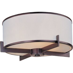 Darby Home Co Darcia 3-Light Flush Mount