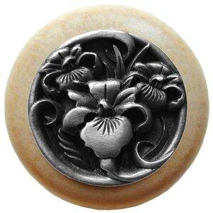 Floral Mushroom Knob