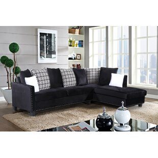 Ebern Designs Hoekstra Delta Sectional