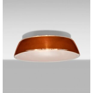 Reviews Pica 1-Light Outdoor Flush Mount By Besa Lighting