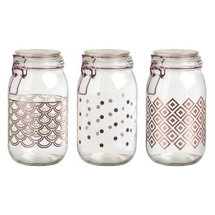 Preserving 3 Piece Kitchen Canister Set