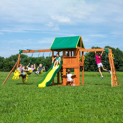 Backyard Discovery Prairie Ridge All Swing Set