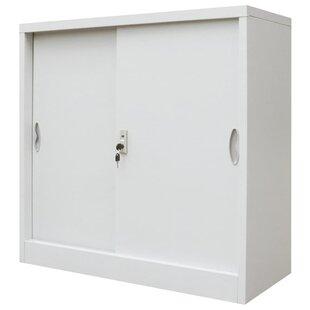 Brunell 2 Door Storage Cabinet By Rebrilliant