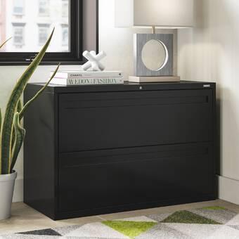Rebrilliant Ber 2 Drawer Lateral Filing Cabinet Wayfair