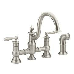 Moen Waterhill Bar Faucet with Side Spray and Duralock™