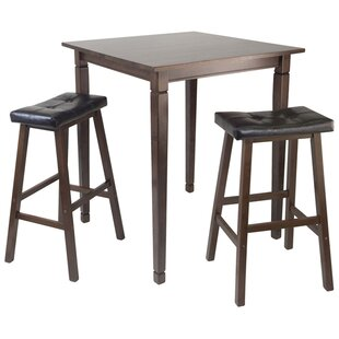 Hemphill 3 Piece Counter Height Pub Table Set Red Barrel Studio