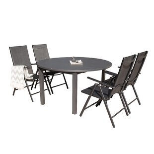 Geir Extendable Dining Set With 4 Chairs By Sol 72 Outdoor